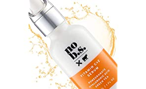No B.S. Vitamin C Serum For Face - Potent & Clean Skin Care. No Hype. No Fads. Pure C + E with Hyaluronic Acid Serum.