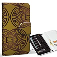 スマコレ ploom TECH プルームテック 専用 レザーケース 手帳型 タバコ ケース カバー 合皮 ケース カバー 収納 プルームケース デザイン 革 その他 模様 000802