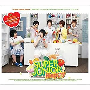 Super Junior Happy - 1st Mini Album - Cooking? Cooking!(韓国盤)
