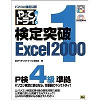 パソコン検定公認やってトライ!検定突破Excel2000〈1〉P検4級準拠/MOUSにも対応 (「やってトライ!」シリーズ)
