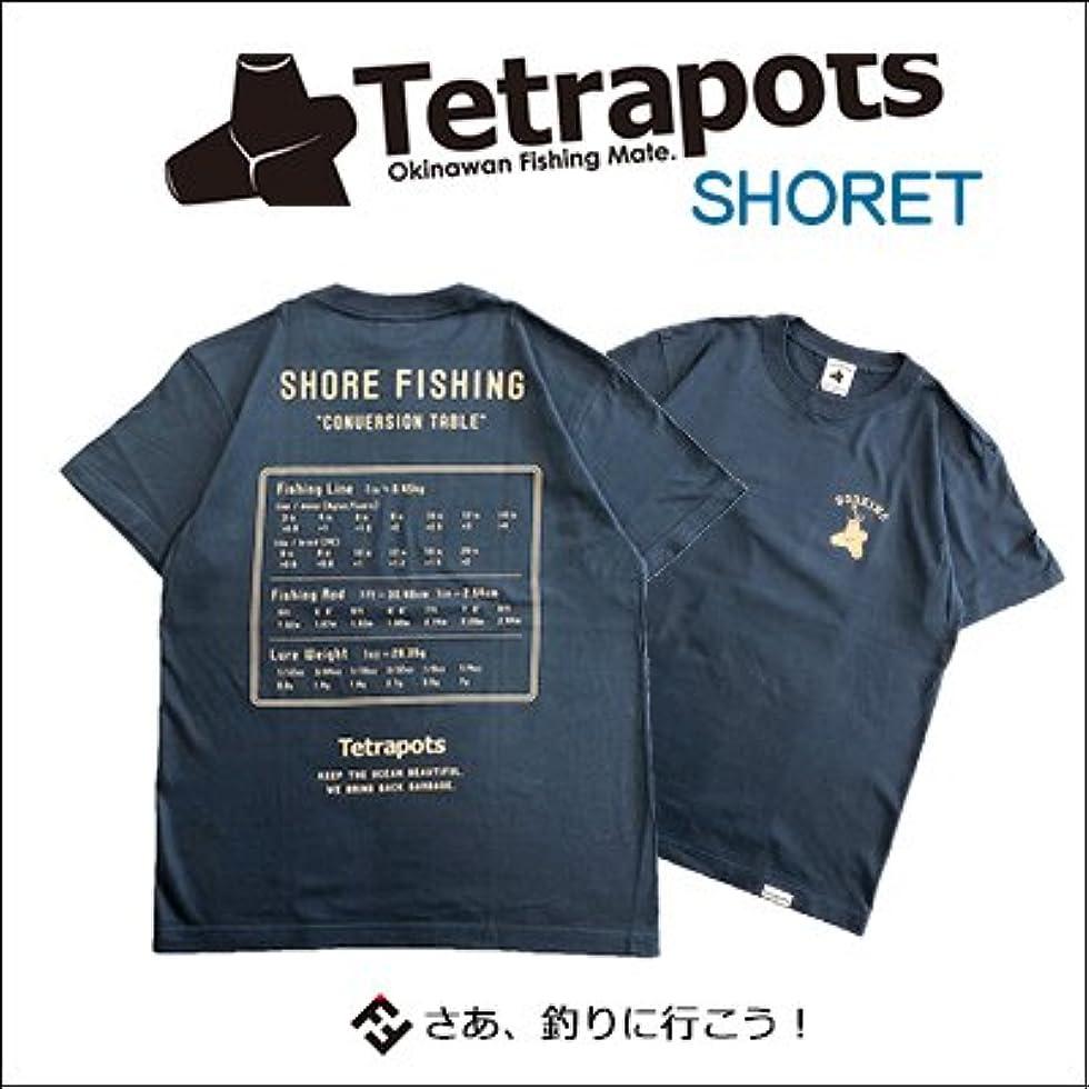 弁護士治す辞任テトラポッツ Tシャツ ショアT TPT-043半袖 カラー:ストレート