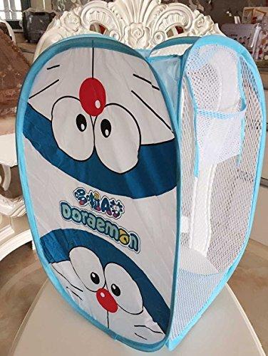 CJB Cute Doraemon Foldable Pop Up Hamper Laundry Bag (US Seller) [並行輸入品]