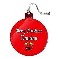 クリスマスダミアン年とアクリルオーナメント