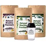 Natural Healthy Standard. 選べるスムージー3袋セット マンゴー 豆乳抹茶 アサイーバナナ 160g×3袋