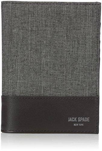 [ジャック・スペード] 財布 TECH OXFORD PASSPORT WALLET W6RU0428 020 GREY