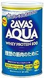 ザバス(SAVAS) アクア ホエイプロテイン100 グレープフルーツ風味 360g