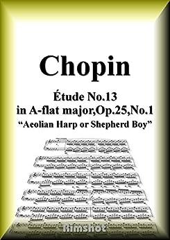 [Frédéric François Chopin]のショパン エオリアのハープ Op.25 No.1 ピアノ・ソロ