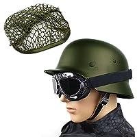 WWIIドイツ軍m35スチールヘルメットクラシックレプリカ