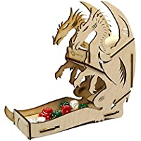 [イーラプター]e-Raptor 木製ダイスタワー ドラゴン (ナチュラル)