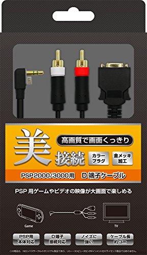 (PSP-2000、3000用) D端子ケーブル