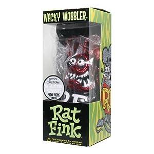 【RAT FINK】ラットフィンク・メタリック・バブルへッド(メタリックレッド)