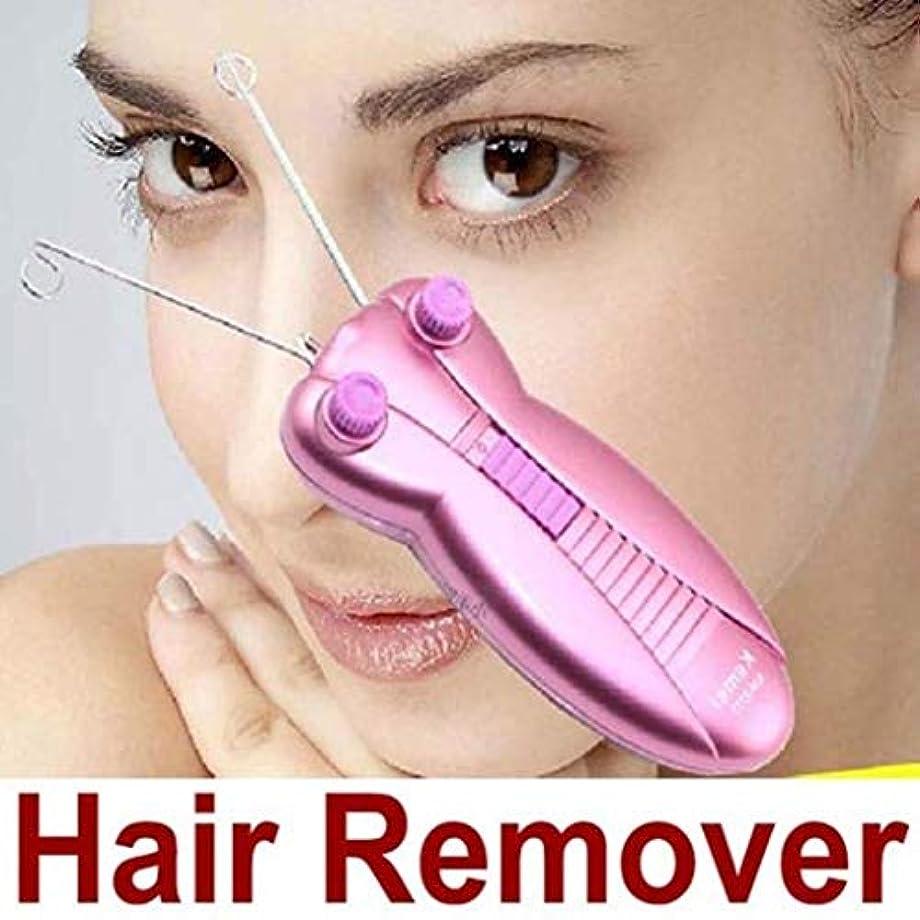 適用済みやさしく絶壁女性脱毛器、ボディ顔の毛の取り外し装置、電気顔の綿の毛の取り外し装置かみそり