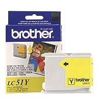 Brother OEMインク LC51Y (イエロー) (1カートリッジ) (インクジェットサプライ)