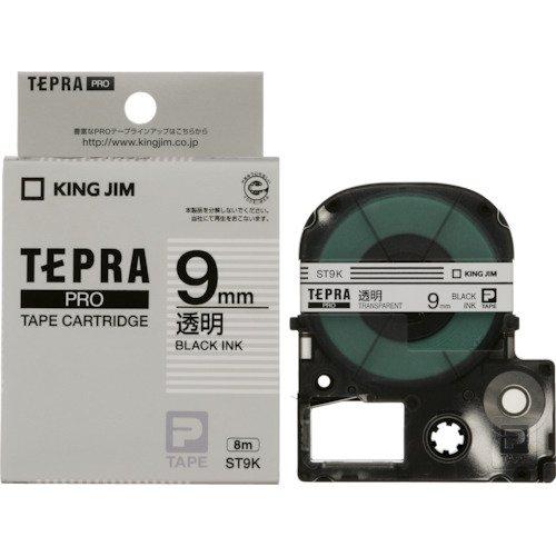 キングジム テプラ PRO用テープカートリッジ 透明ラベ...