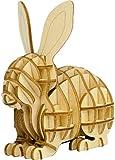 木製パズル kigumi (キグミ) ウサギ