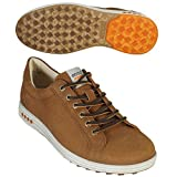 [エコー] ゴルフシューズ(スパイクレス) Men's Street Evo One 150234 50770 Camel/Orange Sp/Out EU 41(25.5cm)