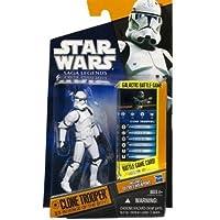 Star Wars 2010 Clone Trooper Episode III by Hasbro - Saga Legends Sl No. 16スターウォーズ/最後のジェダイ [並行輸入品]