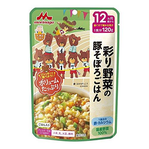 森永乳業 大満足ごはん 彩り野菜の豚そぼろごはん(120g)