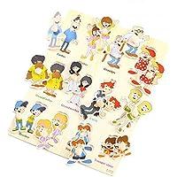 [文字]フィンガートレーニングペグパズルは想像教育木製玩具を作成します。