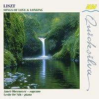 Liszt;Songs of Love & Longi
