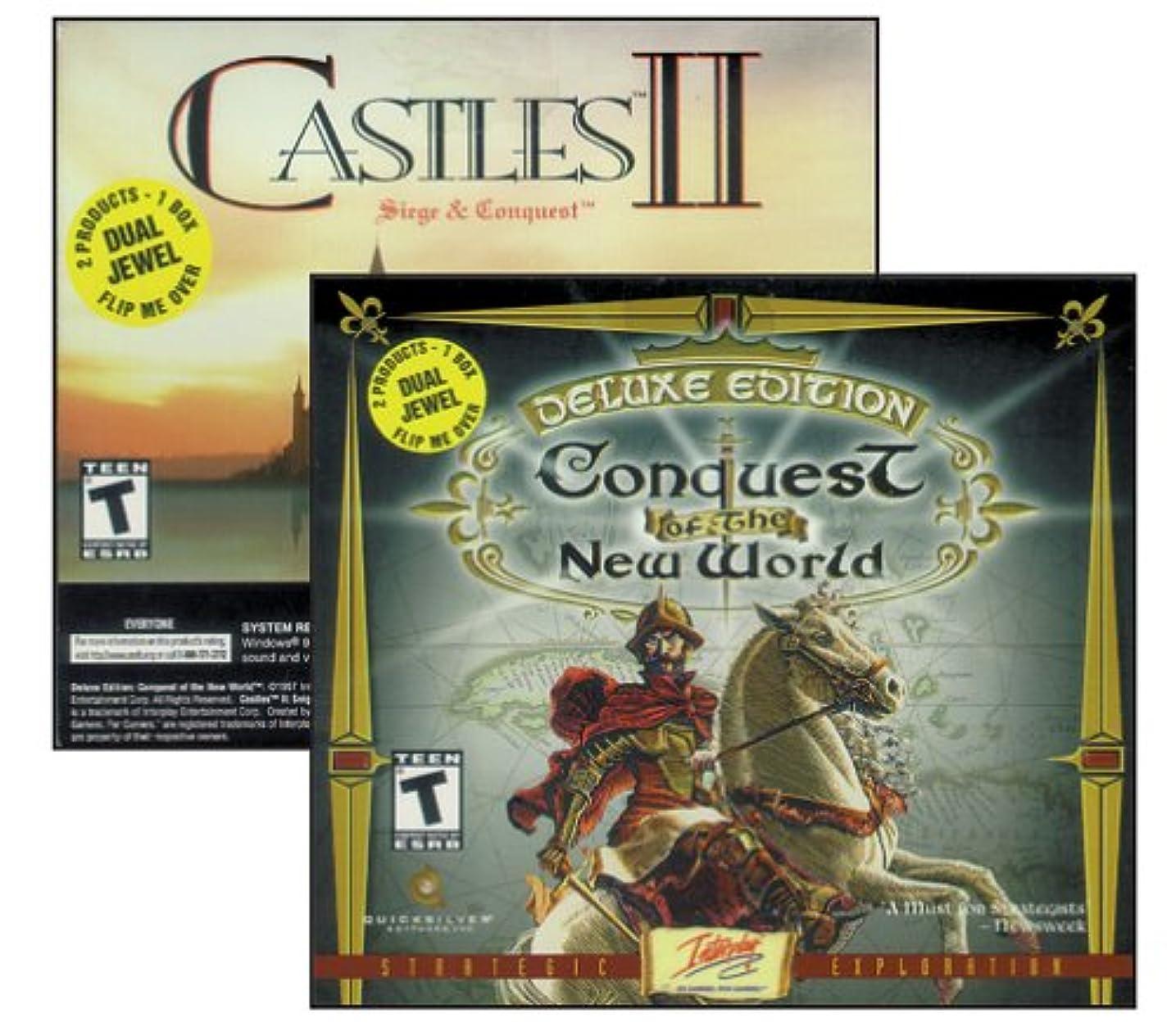 石油賄賂お肉Conquest of the New World Deluxe / Castles 2 (Jewel Case) (輸入版)