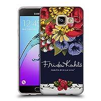 Official Frida Kahlo ブルーム レッド・フローラル ソフトジェルケース Samsung Galaxy A3 (2016)