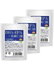 DHA+EPA+亜麻仁油 30粒 3袋 セット 計90粒 最大3か月分 ソフトカプセルタイプ
