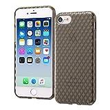 レイ・アウト iPhone 8 / iPhone 7 ケース ソフト TPU キラキラ ブラック RT-P14C7/B