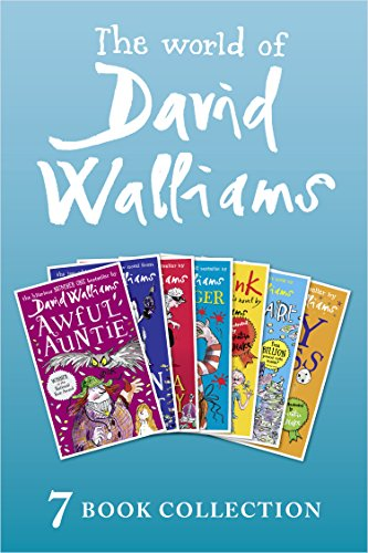 The World of David Walliams: 7 Book Collection (The Boy in the Dress, Mr Stink, Billionaire Boy, Gangsta Granny, Ratburger, Demon Dentist, Awful Auntie)の詳細を見る