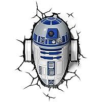 [3DライトFX]3D light FX Star Wars R2D2 3D Deco LED Wall Light 816733020631 [並行輸入品]