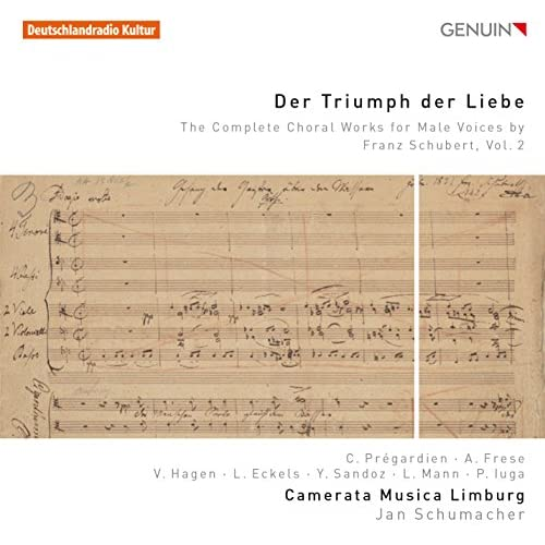 Schubert: Der Triumph der Liebe – The Complete Choral Works for Male Voices, Vol. 2