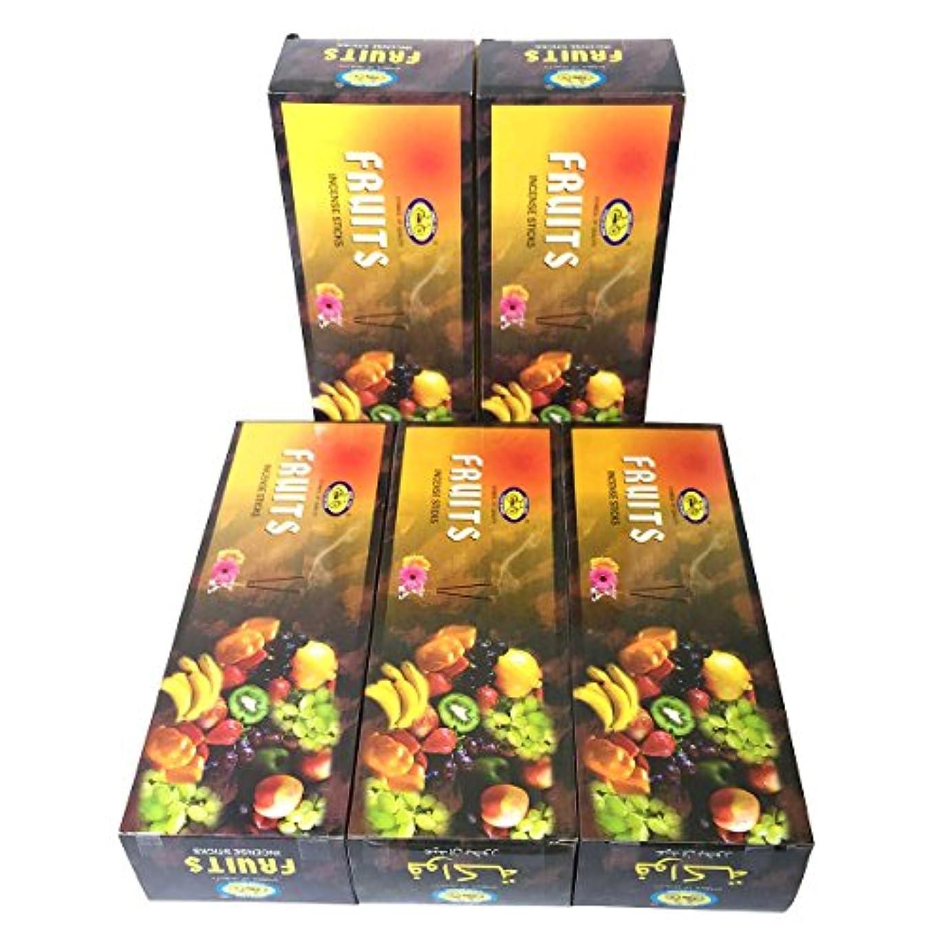 代わりにを立てる束洗うフルーツ香 スティック 5BOX(30箱)/CYCLE FRUITS/ インド香 / 送料無料 [並行輸入品]