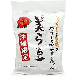 美ら豆 (小) 80g(10g×8包)×3袋 琉球フロント 沖縄 -ちゅらまめ- 黒糖そら豆 沖縄土産の大ヒット商品! 焼酎のおともにも
