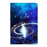 無限造物2017新型Apple iPad9.7インチケース 創意宇宙星空紋様 超軽量極薄スクラブレザー 二つ折スタンドオートスリープ機能 スマートカバーiPad mini/Air/Proモデル星鳥