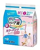 リリーフ 超うす型まるで下着 カラーパンツ ピンク M〜Lサイズ 2枚
