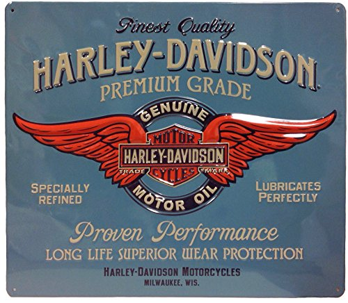ハーレーダビッドソン ブリキ看板 メタル プレート Harley Davidson -Genuine Duty- バイク アメリカン雑貨 アメリカ 雑貨 ハーレー グッズ