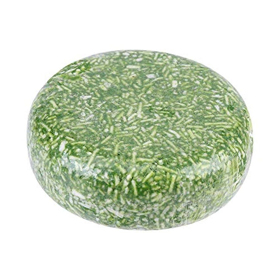 オーガニック手作り冷たいシナモンシャンプーバー100%ピュアヘアシャンプー(グリーン)