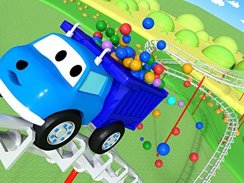 に乗りながら色と数字を学ぼう & サンとインコを探しながら色を学ぼう-ダンプトラックのイーサン
