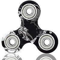 vikylin 2017最新限定カラフル手tri-spinner Fidget Toy Hand Spinners withプレミアムハイブリッドセラミック軸受 FSC-3
