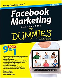 Facebook Marketing All-in-One For Dummies by [Vahl, Andrea, Haydon, John, Zimmerman, Jan]