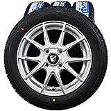 14インチ 4本セット スタッドレスタイヤ&ホイール DUNLOP (ダンロップ) WINTER MAXX 01 (ウィンターマックス01) 155/65R14 BRANDLE