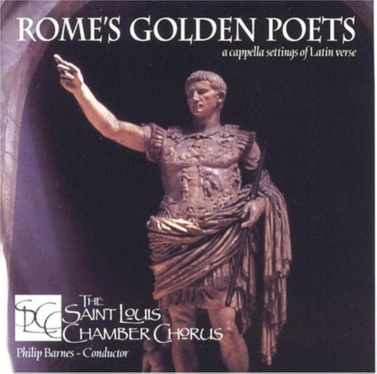 背景版苦しめるRome's Golden Poets: A Cappella Settings of Latin Verse