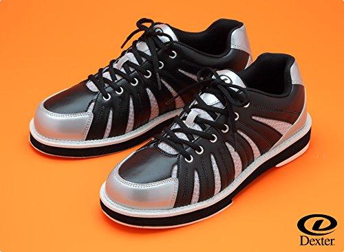 (デクスター) ボウリングシューズ Ds60 ブラックシルバー 左右兼用 【ボウリング用品 靴】