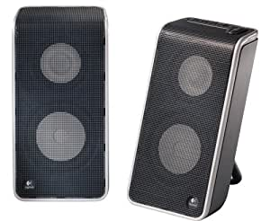 Logicool USB接続ポータブルスピーカー V20 Notebook Speakers V-20