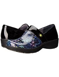(ダンスコ) Dansko レディースクロッグズ?ミュール?スライド?靴 Camellia Multi Leopard Patent US Women's 11.5-12 26-26.5cm Regular [並行輸入品]