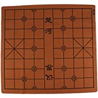 Baosity スエードレザー チェスボード チェス盤 全3サイズ - 68x62cm