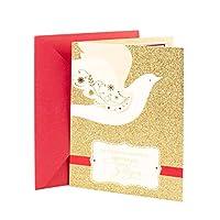 ホールマークビダクリスマスグリーティングカード(鳩の鳩)