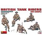 1/35  イギリス戦車跨乗兵セット (北西ヨーロッパ戦線) 5体入り