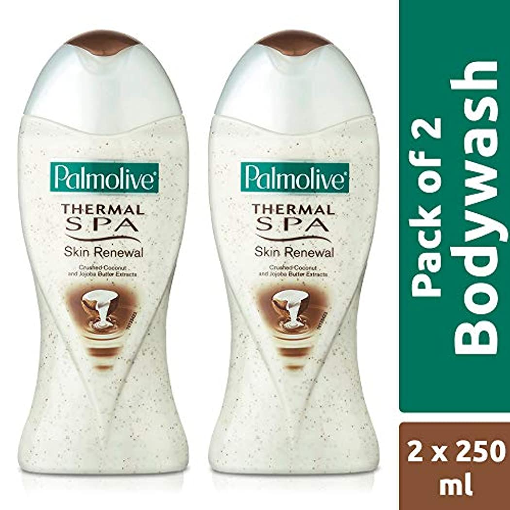 逃れる驚くばかり晴れPalmolive Bodywash Thermal Spa Skin Renewal Shower Gel - 250ml (Pack of 2)