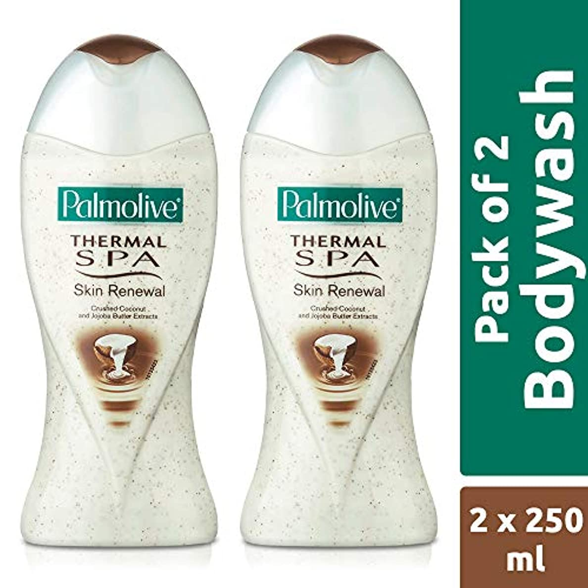 風景いたずらレポートを書くPalmolive Bodywash Thermal Spa Skin Renewal Shower Gel - 250ml (Pack of 2)